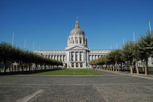 San Francisco City Hall. Empty.