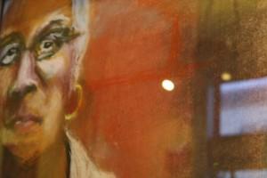 One of Klaassen's portraits depicts Faye Bell of Burton High School.
