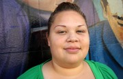Carola Guadamuz transfered from CalWorks to Jobs Now, a stimulus-funded jobs program, just a month after her grant was cut.