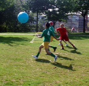 Play Mega Soccer with The Institute of Aesthletics