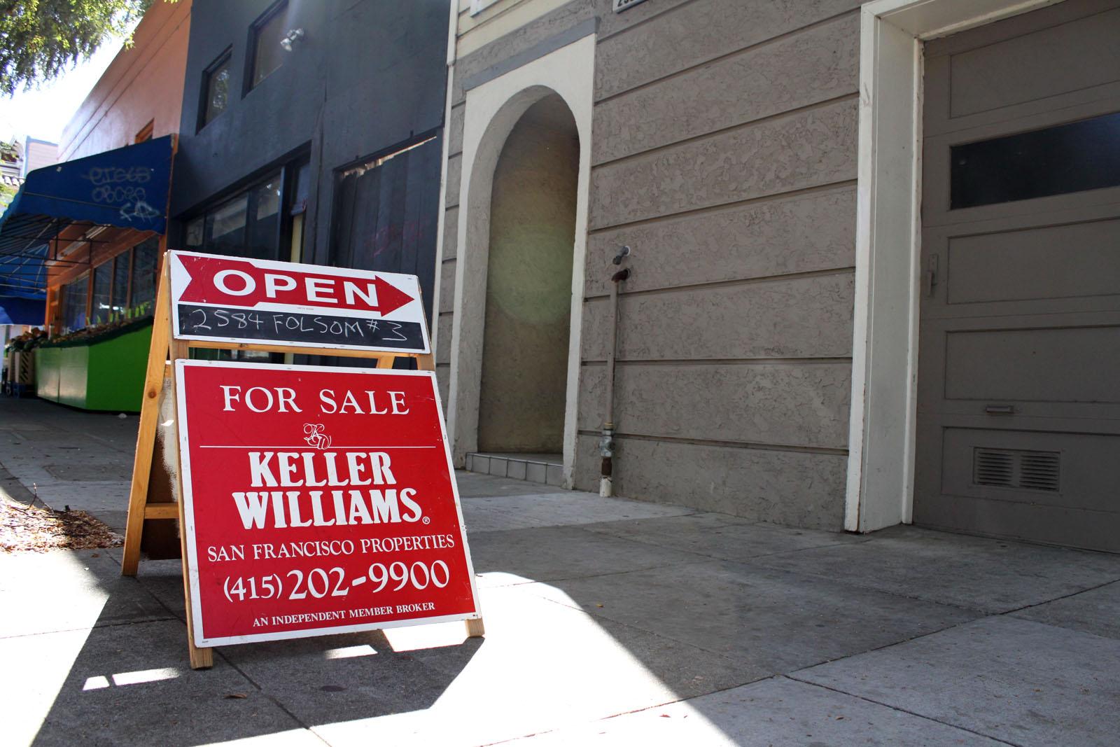 Condo for sale on Folsom Street.