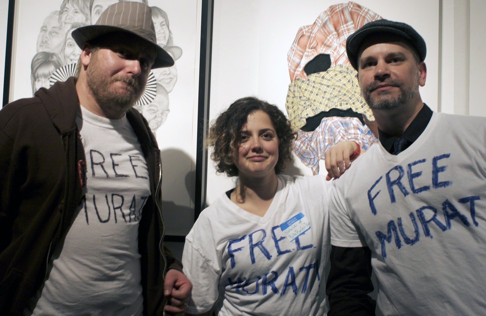 Free Murat, Say Wife and Friends