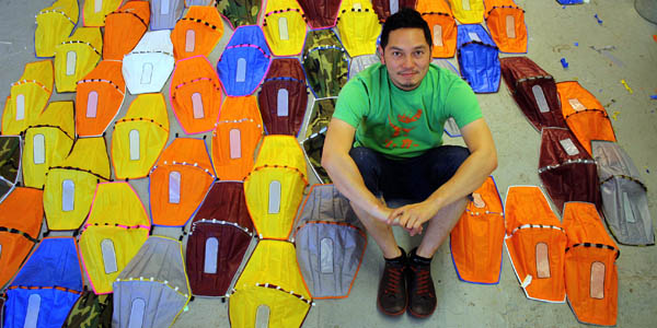 Artist Michael Arcega Wins Art Commission