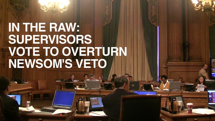 Supes Overturn Newsom's Veto