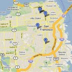 A map of San Francisco if the CPMC plan passes.