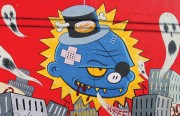 """Cover shot of Annice Jacoby's new book """"San Francisco Street Art: Mission Muralismo."""""""