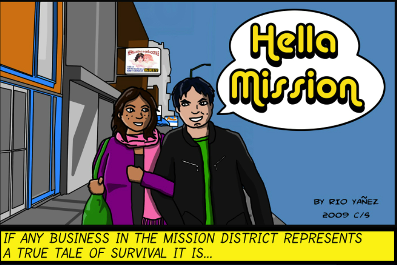 Comic: Hell@ Mission