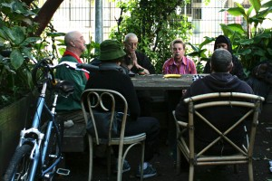 The Langton garden group can attract anywhere from two to twenty students.
