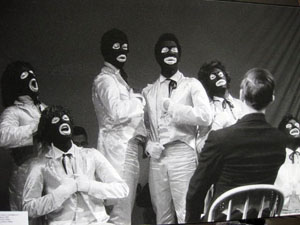A Minstrel Show, or Civil Rights in a Cracker Barrel, 1965 created my a racially mixed group of SF Mime Troupe performers