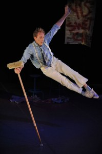 """Matt Clarke duets with a broom in """"Yes Sweet Can"""""""