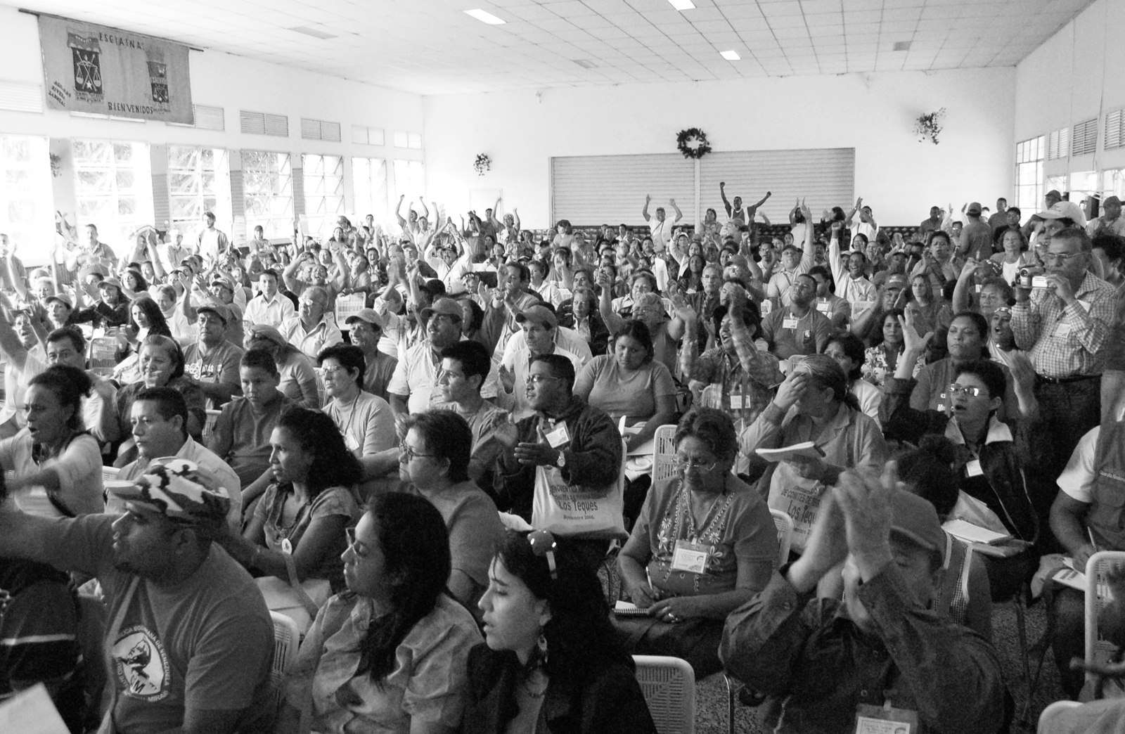 National Gathering of the Comités de Tierra Urbana (Urban Land Committees). Photo by Sílvia Leindecker.