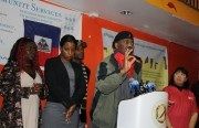 Haitian Wilfred Bellot urges S.F. to remember Haiti.