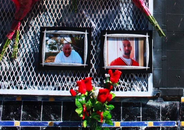 Memorial for Francisco Cornejo and Frank Pena