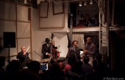 """The Marcus Shelby Quartet performs """"MLK and Jazz"""" at Red Poppy Art House (photo courtesy of BayTaper.com)"""