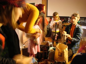 """Participants from previous """"A Curious Cinema"""" workshop (Dec. 2009)"""