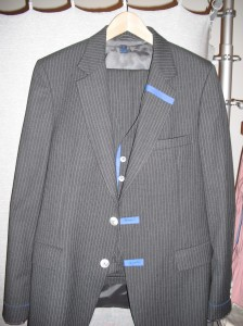 One of Tadeo's handpainted suits