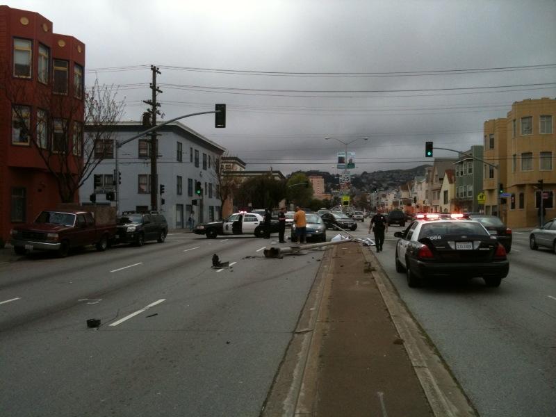 Cesar Chavez St. Car Accident