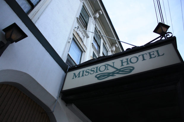The Mission Hotel.