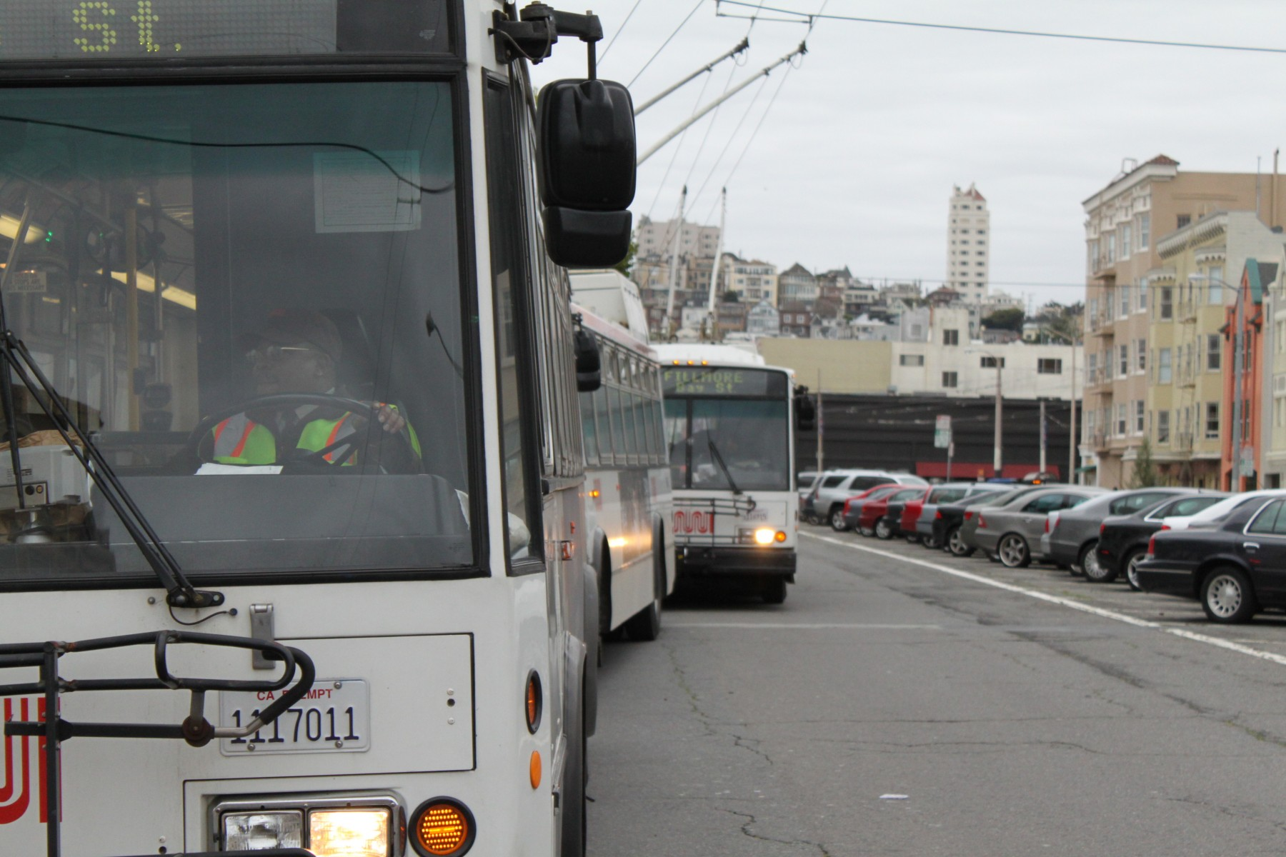 MUNI MILES: No Concessions From Drivers
