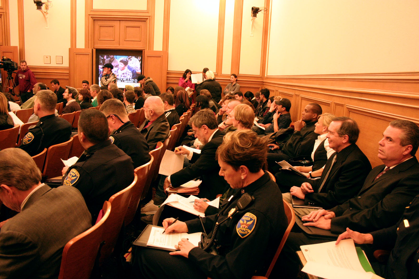 Police Commission Hears Testimony on Sit-Lie