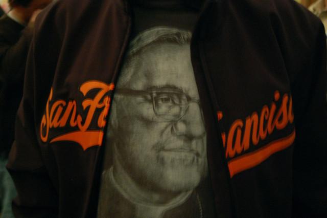 San Francisco still remembers Oscar Romero. Photo by Bridget Huber.