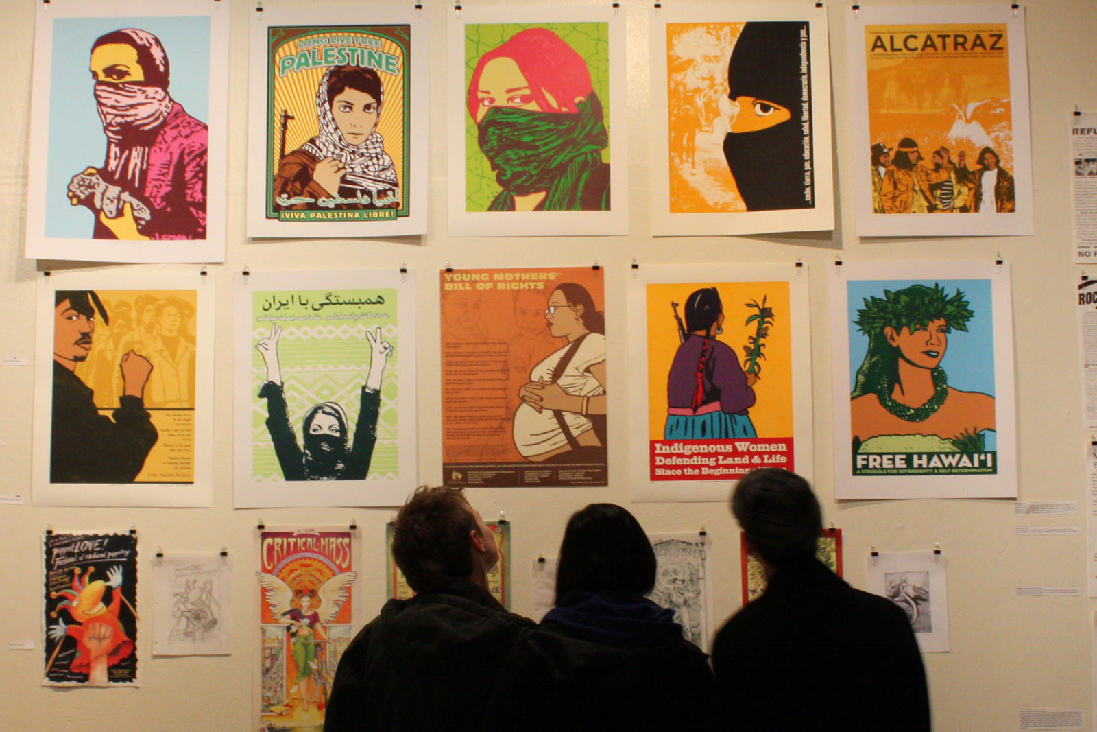 Posters Exhibit Tell Mission District History