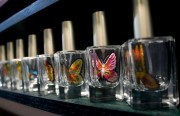 Scent of a Butterfly. By Tuan Tran, in exhibit at Art Explosion. Photos for this story by Mabel Jiménez.