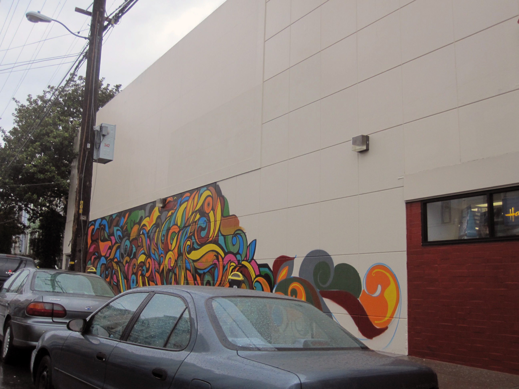 A New Mural at Walgreens and 23rd and Mission Streets