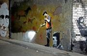 A Banksy piece