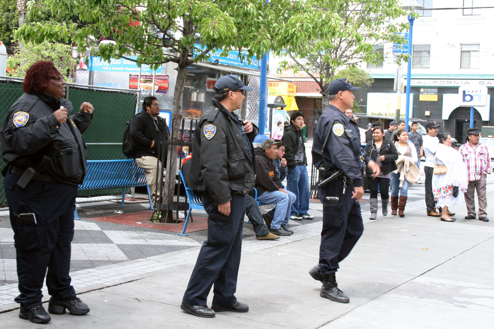 Fare Inspectors, Cops Sweep 16th Street BART