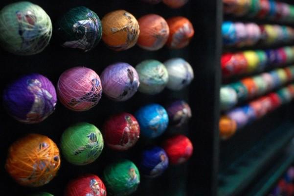 And makes candy-colored ping pong baseballs