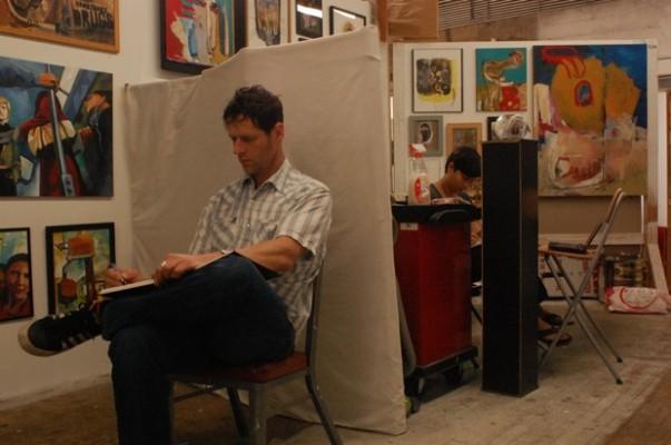 Scott Enwert and Tosha Albor at work.