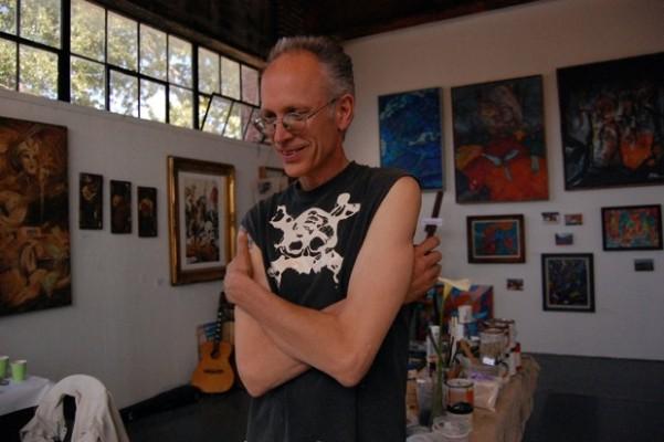 Robert Burg showed paintings…