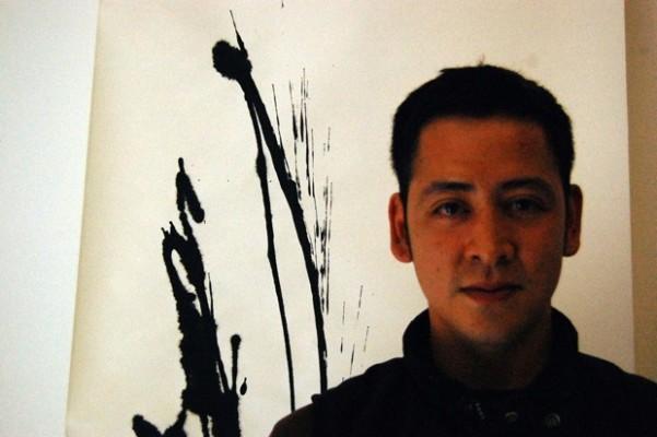 Writing and movement inspire Daniel Diaz-Ta