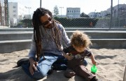 Photo by Kimberly Chua.  (This park got a passing grade on the 2010 SF Playground Report Card.  It's not Dolores.)