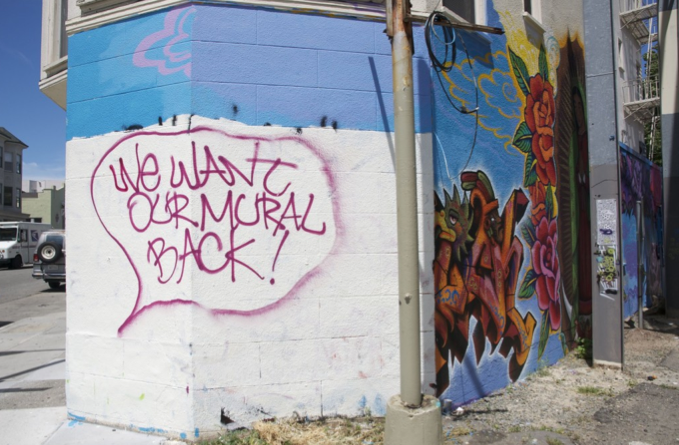 """""""We Want Our Mural Back"""""""