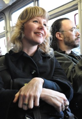 """""""Strange things happen on the bus. Once, I talked a troubled youth out of committing a robbery. I hope."""""""