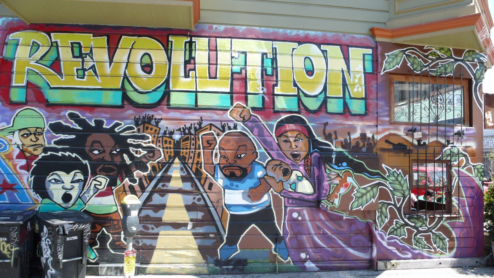 Muralists Find Common Wall