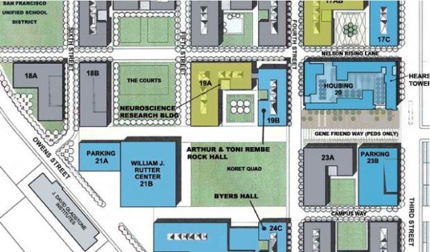 Planes de UCSF para Lote Desocupado en Bahía de la Misión