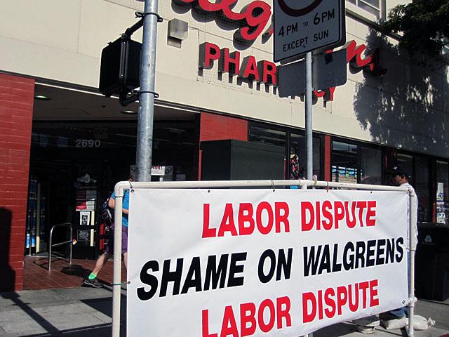 Carpenters Union Tries to Shame Walgreens