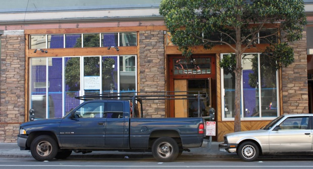 1132 Valencia. Soon to be a crepe restaurant.
