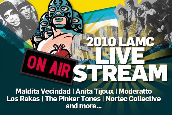 Streaming LIVE: Latin Alternative Music Showcase