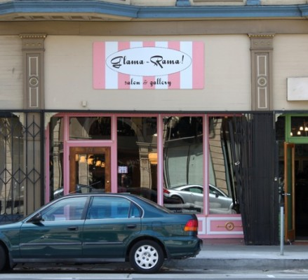 304 Valencia. Now Glama Rama Salon.