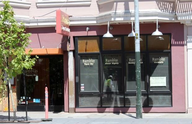 557 Valencia. Ramblas Tapas now closed.