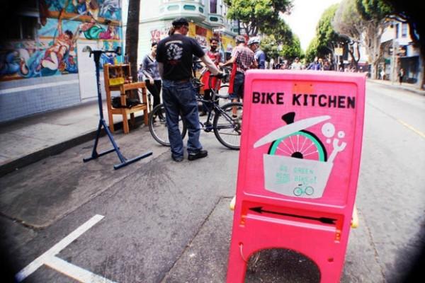 Free bike repair and consultation.