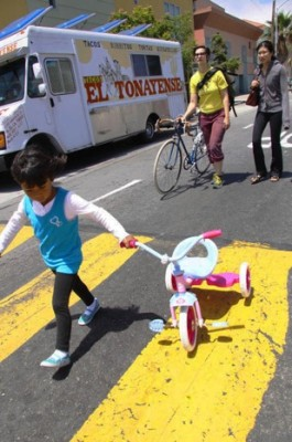 Taking the tricycle for a walk…