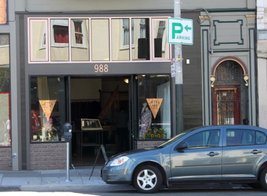 988 Valencia. Now After Life, vintage clothing store.