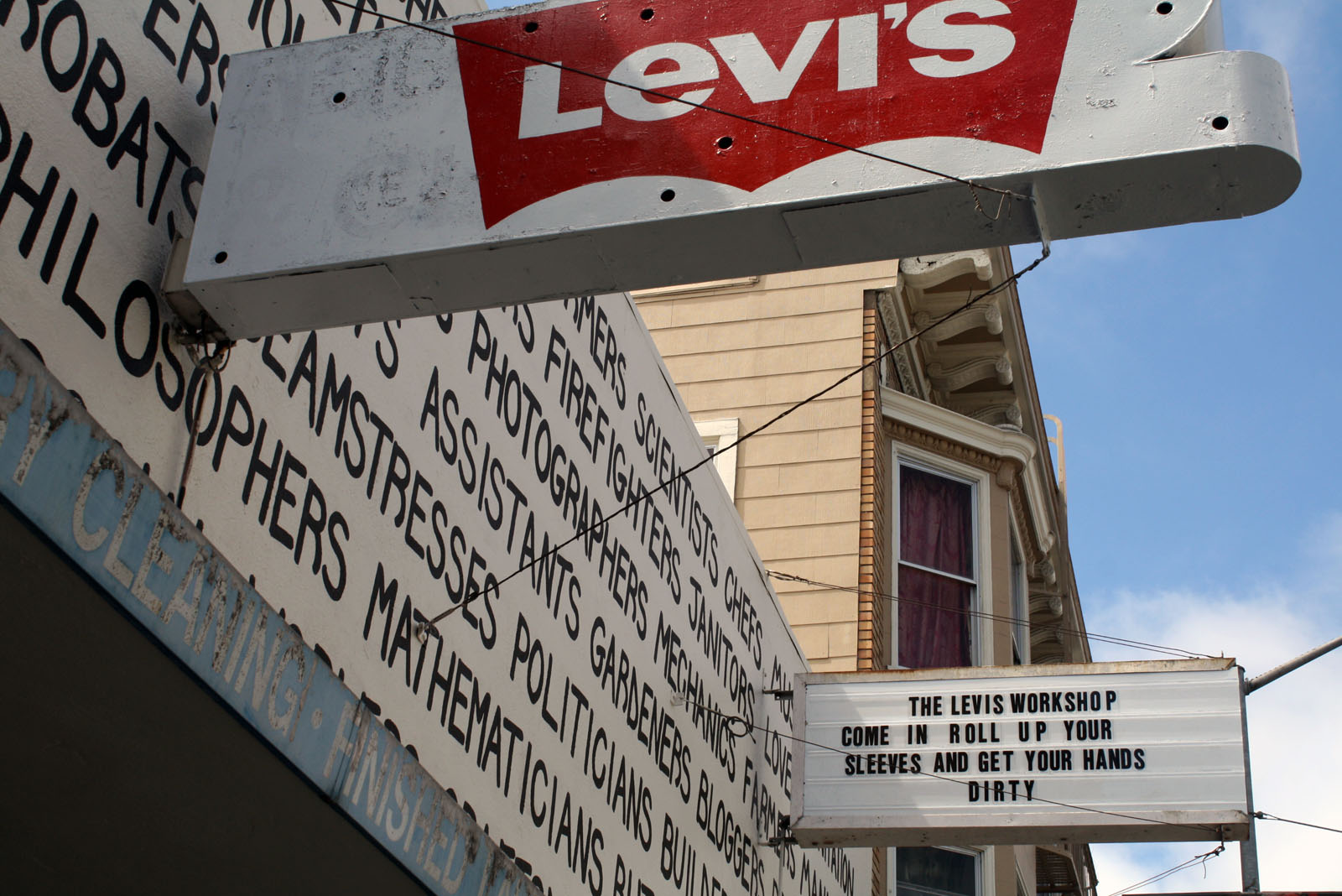 15 Ways of Looking at the Levi's Workshop on Valencia