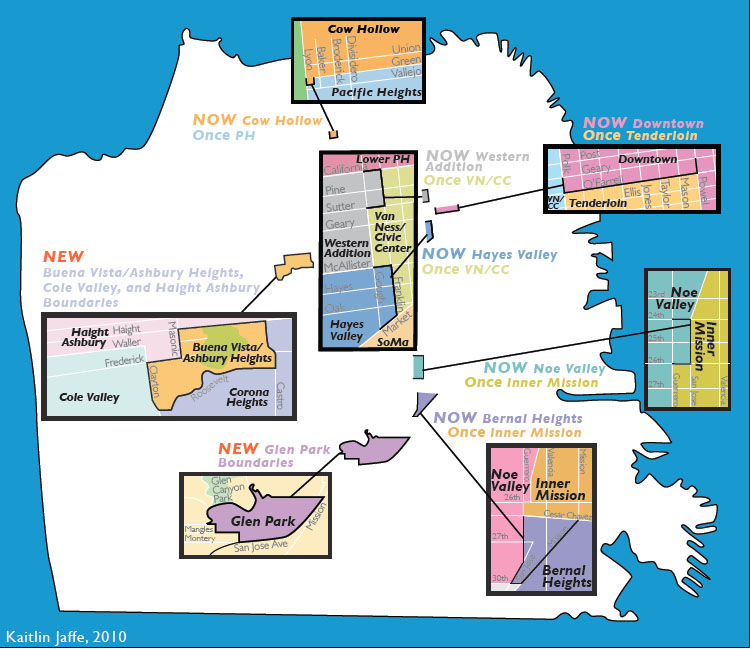 New SF Real Estate Map Has Some Losing Hipster Cred, Gaining Sales Value
