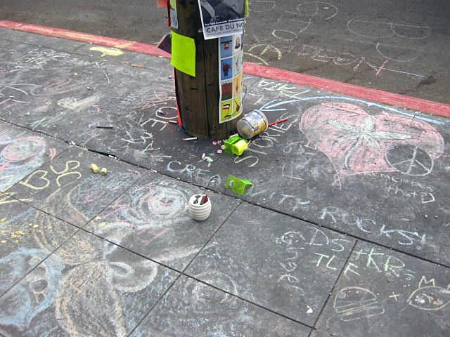 Chalk Man Strikes Again!